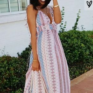 Strappy sundress from Lulus